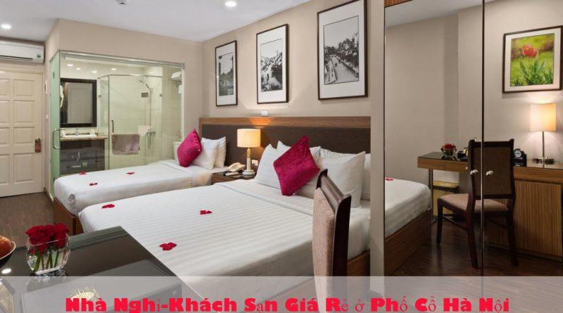 Nhà Nghỉ khách sạn giá rẻ ở phố cổ hà nội ,phòng đẹp, sạch