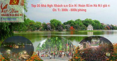Tổng Hợp 20 khách sạn gần hồ hoàn kiếm Hà Nội giá rẻ